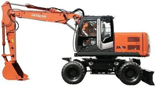 Hitachi Zaxis 170W-3 190W-3 Wheeled Excavator Training Manual Download