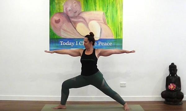 Asana Spotlight - Warrior 2 - With Carrie-Anne Fields, My Health Yoga