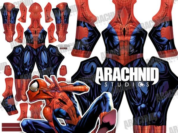 Bagley V2 Spider-Man Dye-sub pattern
