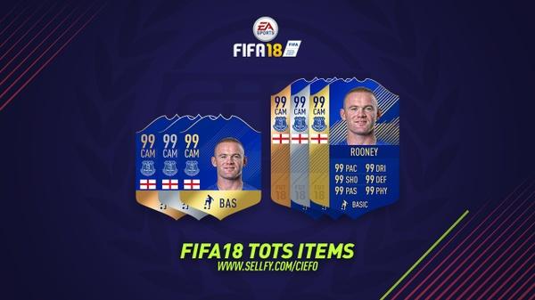 FIFA 18 TOTS ITEMS