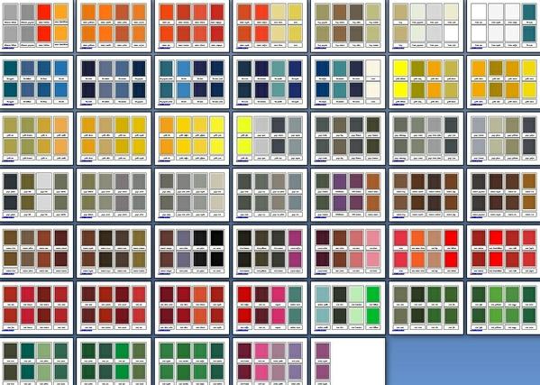 Nomenclature colori primari secondari terziari ITALIANO