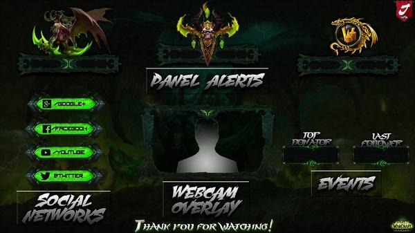 "Overlay ""World of Warcraft: Legion"" [Package]"