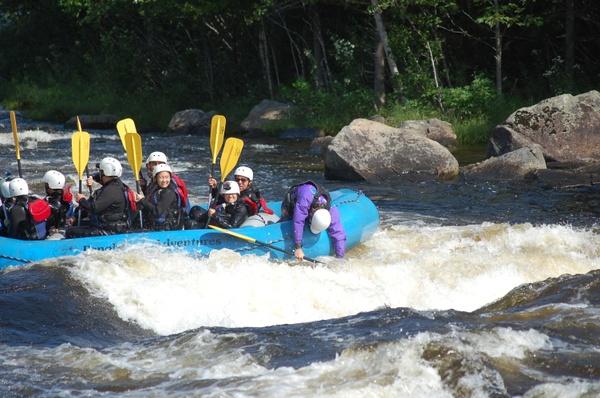 Penobscot Rafting 08/19/2017