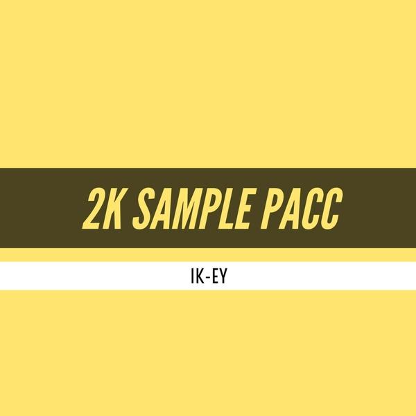 IK-EY 2K SAMPLE PACC