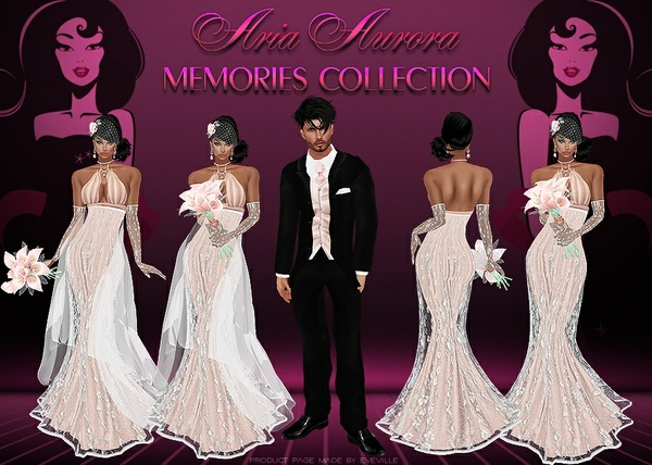 Memories Wedding Collection.No Resell !!