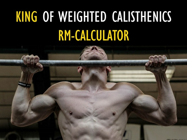 RM-CALCULATOR for weighted exercises