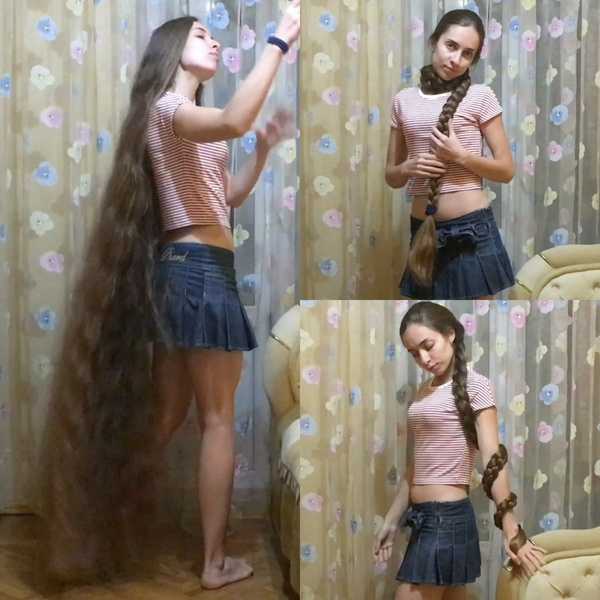 VIDEO - One massive braid