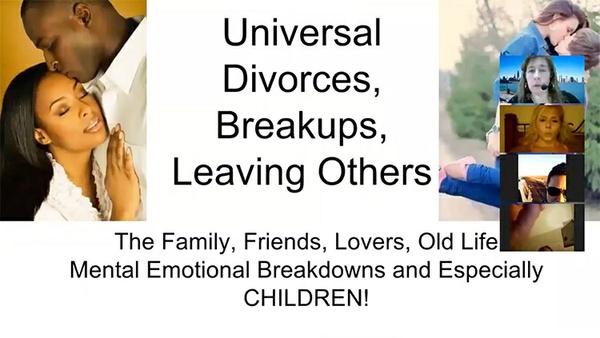 Universal Divorce Parts 1 & 2©