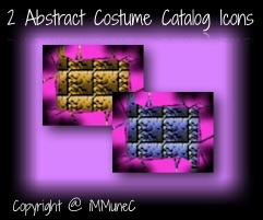 2 Abstract Costume Catalog Icons