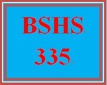 BSHS 335 Week 4 NOHS Ethical Standards Presentation
