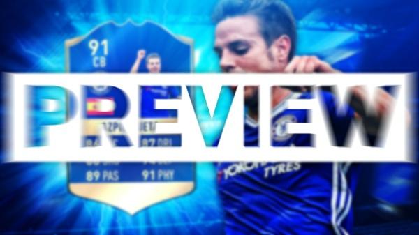 FIFA 17 TOTS AZPILICUETA THUMBNAIL TEMPLATE