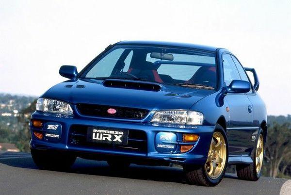 Subaru Impreza WRX  and STI (1993-2000) Workshop Manual