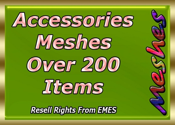 Accessories Meshes Big Bundle Deal Over 200 Items Catty Only!!!!