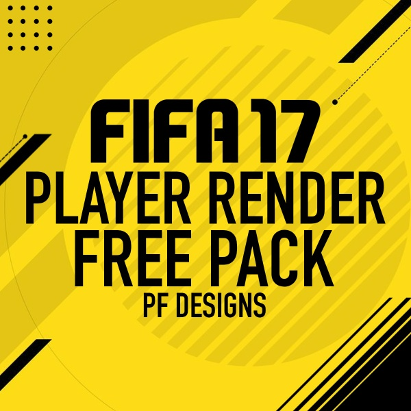 FIFA 17 PLAYER RENDER FREE PACK - BY PF DESIGNS