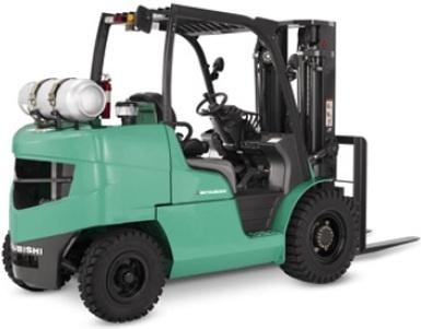 Mitsubishi Gasoline/LPG Forklift Truck FG40N, FG45N, FG50CN, FG50N, FG55N Service Manual