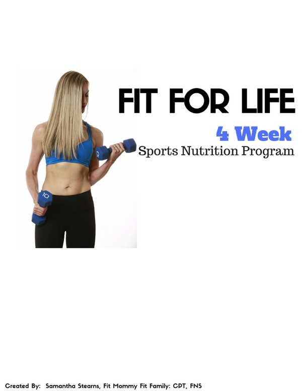 Body Transformation- One Month Sports Nutrition Program