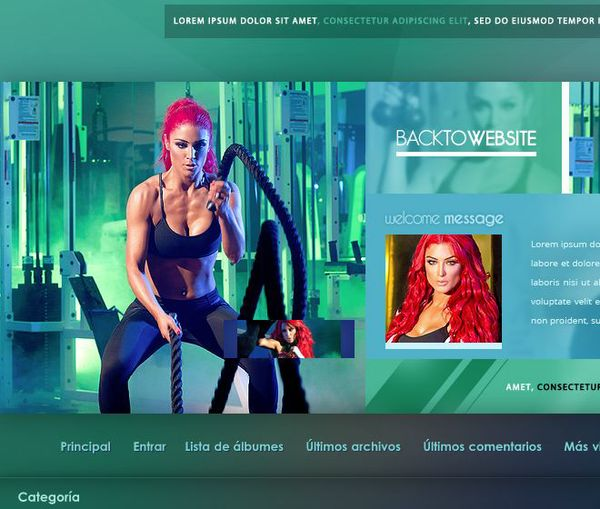 Coppermine Theme