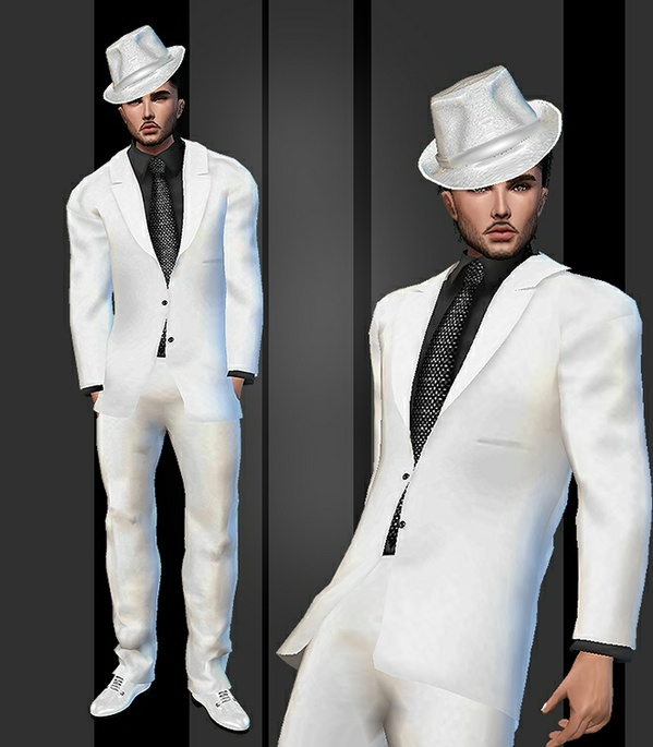 Wedding Suit White. Catty Only!