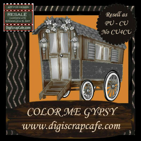 Color Me Gypsy CU Resell
