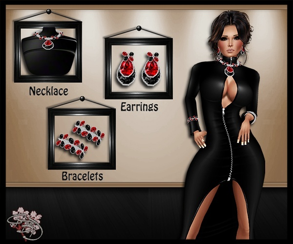 Ophelia Jewels Mesh Set