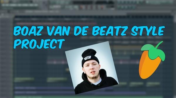 FL Studio - Moombahton Boaz van de Beatz Style Project + Sounds