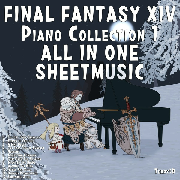 Piano Fantasy - Final Fantasy XIV Piano collection vol. 1