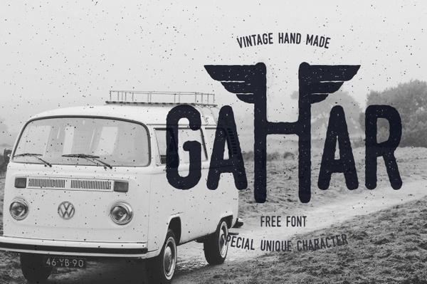Gahar Free Font