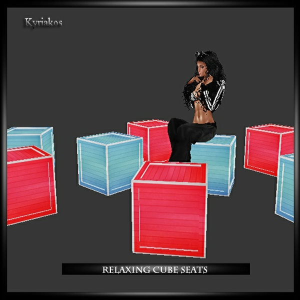 Relaxing Cube Seats