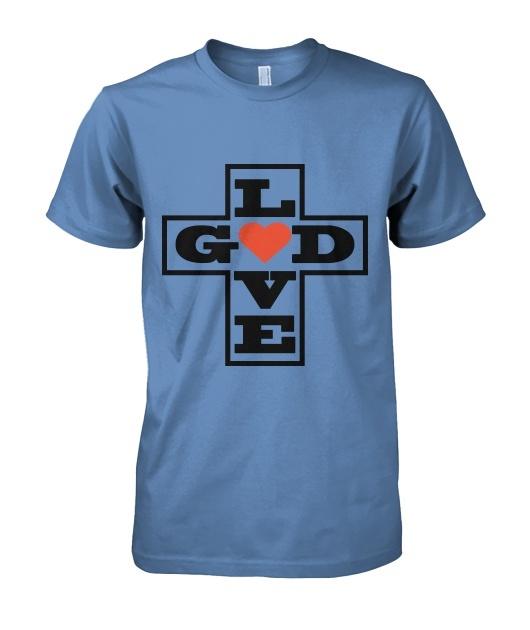 Love God Vector T-Shirt Design
