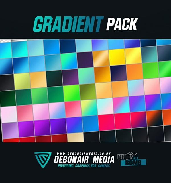 80+ Gradient Pack