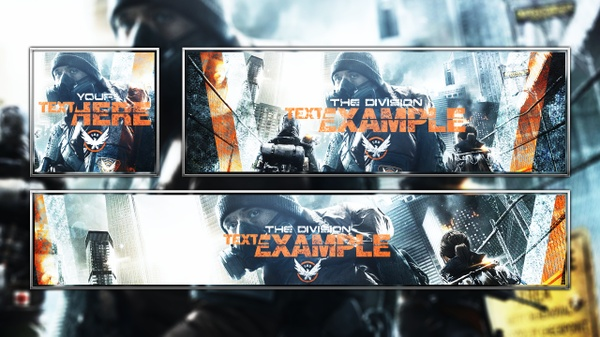 Tom Clancy's The Division - SHD Agents - Revamp Template - Photoshop