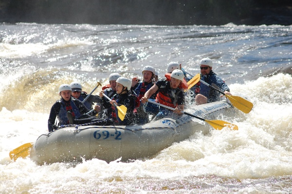 Penobscot Rafting Video 06/01/2016