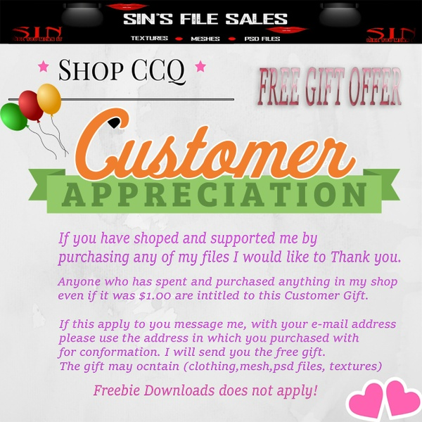 Customer Appreshaition Event * Free Offer (Please read the Product Image)