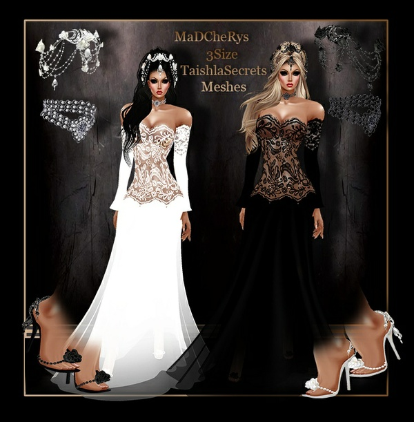 MaD  Wedding 01 black-white Bundle