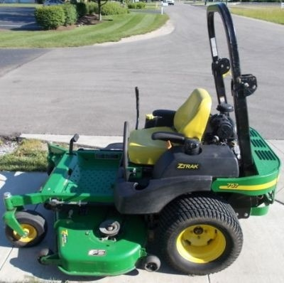 John Deere Mid-Frame Z-Trak™ Mower 737, 757 Technical Service Manual (tm2199)