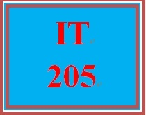 IT 205 Week 3 Week Three Knowledge Check