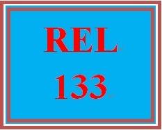 REL 133 Week 1 Knowledge Check