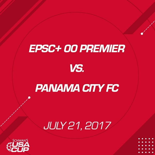 Boys U17 - July 21, 2017 - EPSC+ 00 Premier V. Panama City FC