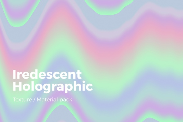 Iridescent Holographic Texture v2
