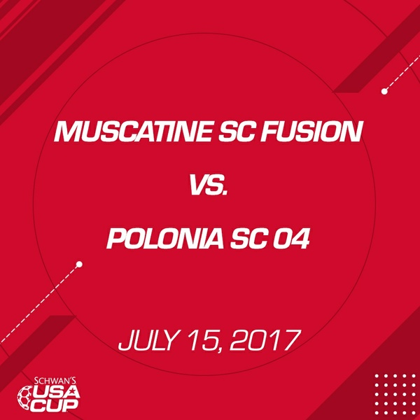Girls U13 - July 15, 2017 - Muscatine SC Fusion V. Polonia SC 04