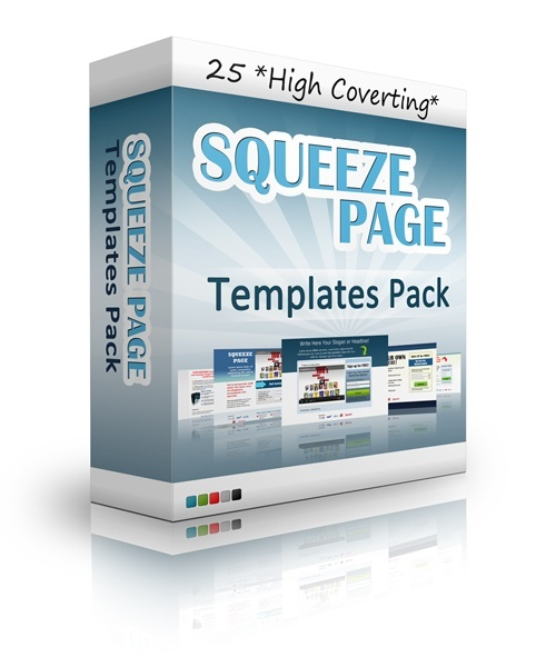 *HOT* 25 Squeeze Pages Templates in 1 Pack