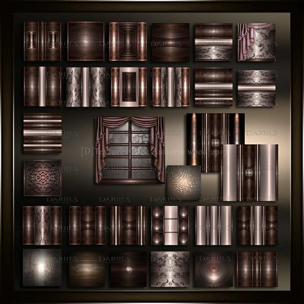 [D]Textures Pack40_Autumn wood 2017