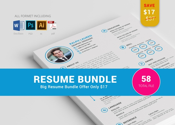 6 RESUME BUNDLE OFFER