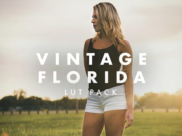 VINTAGE FLORIDA LUT Pack for Sony Cine 4