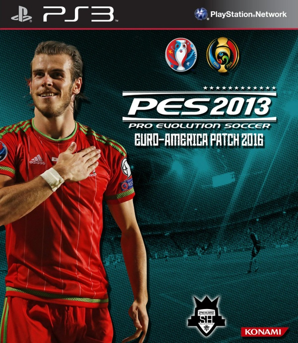 PES 2013 Euro-America 2016 patch for PS3 CFW