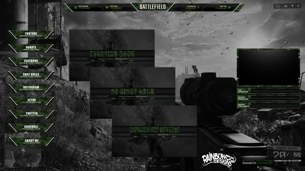 Battlefield Twitch Package