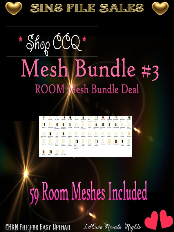 Room Mesh Bundle *2017