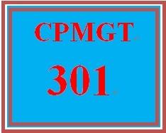 CPMGT 301 Week 3 Human Resource Plan Discussion