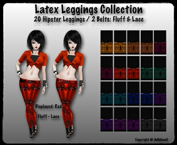 20 Hipster Latex Leggings With Resell Rights