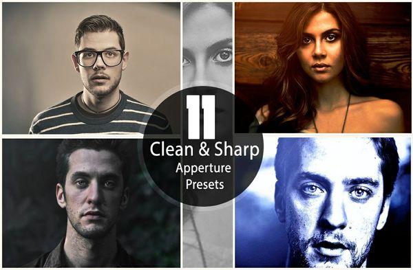 11 Clean & Sharp Aperture Presets
